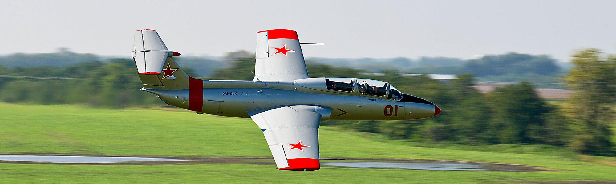 L-29 Delfin - robuster Trainingsjet zu einem attraktiven Preis