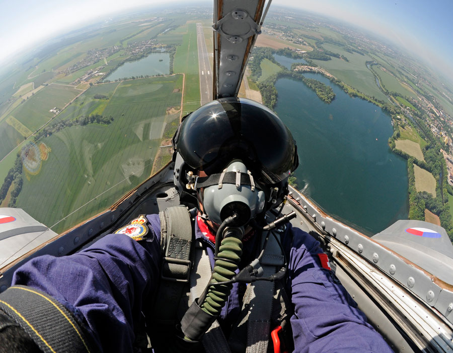 MiG-15 Fagot fliegen