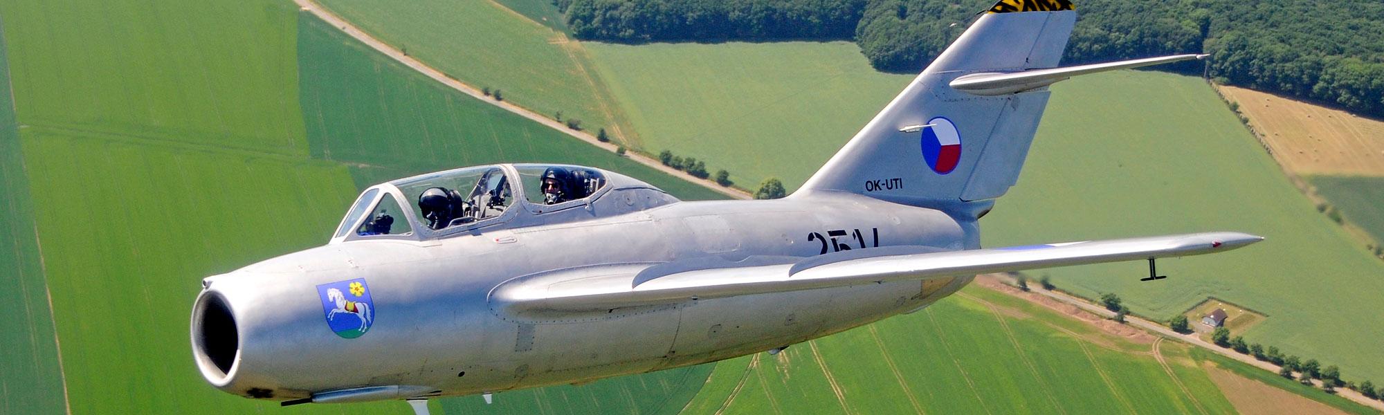 MiG-15 Fagot - Jet Warbird Legende