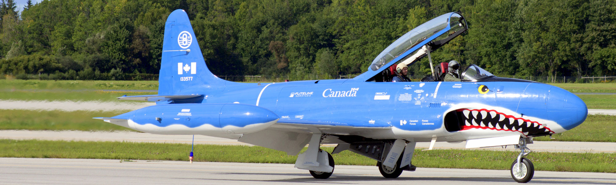 T-33 (T-Bird) in Canada fliegen