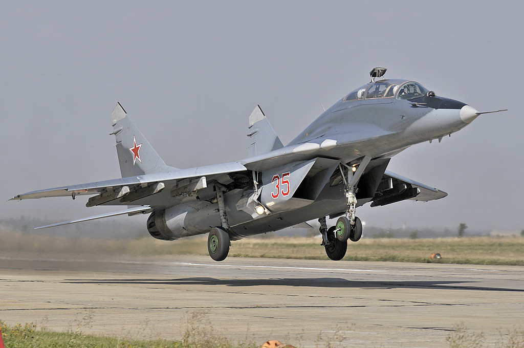 First MiG-29 Edge of Space Video in HD