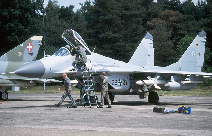 German Luftwaffe and the MiG-29 Fulcrum