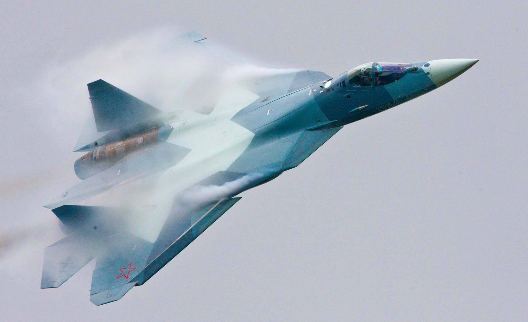 Sukhoi T-50 PAK FA – A Copy of the US F-22?