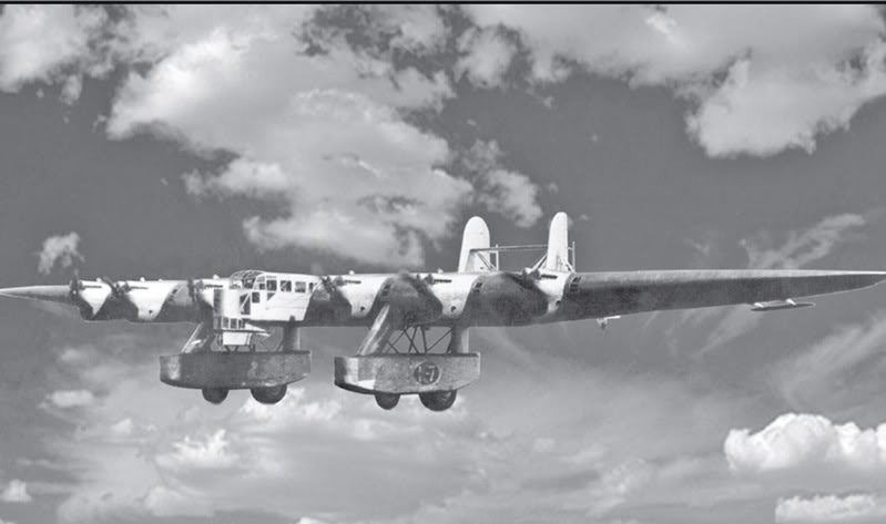 The giant Bomber of the 30's – Kalinin K-7