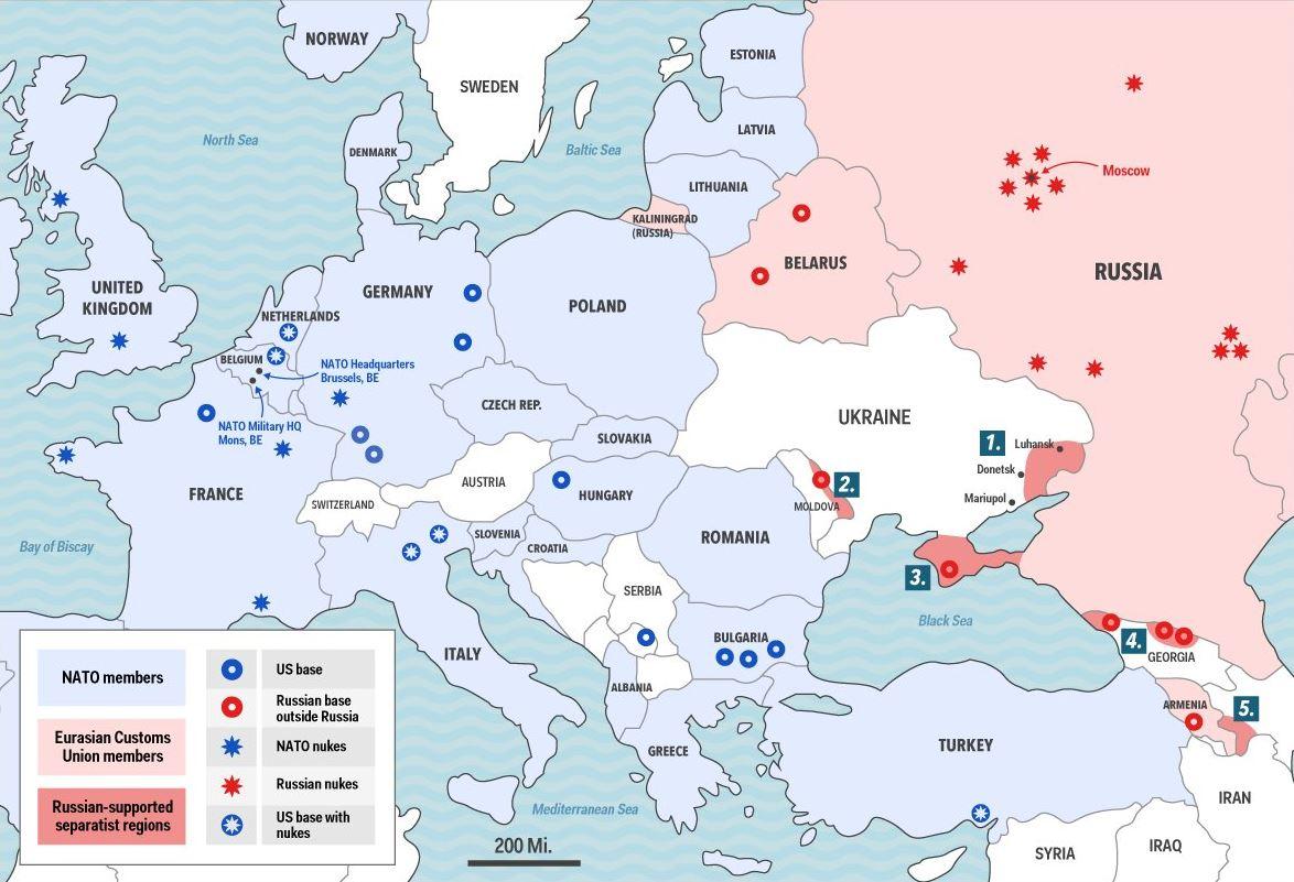 Nato And Russia Back To Cold War Migflugcom Blog