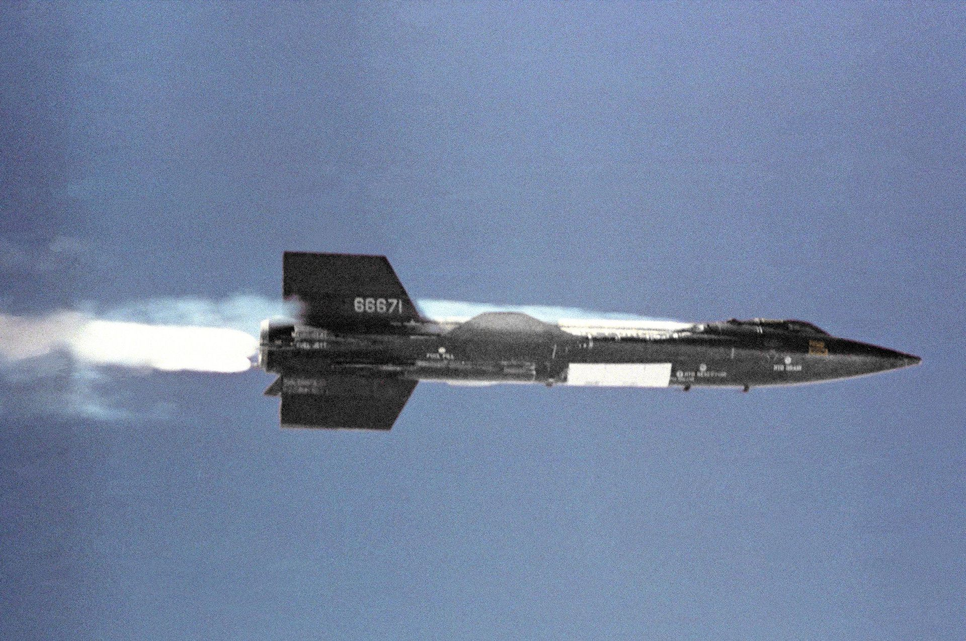 The fastest (rocket-) plane in the World – X-15