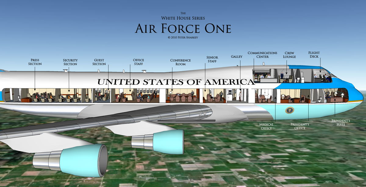 Boeing 747-8 selected as Air Force One