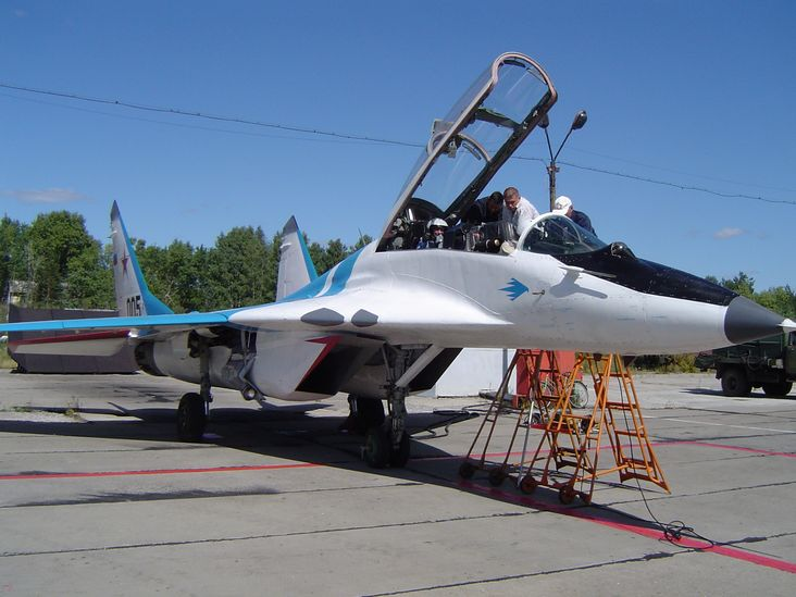 How to rent a MiG-29 and other fighter jets.