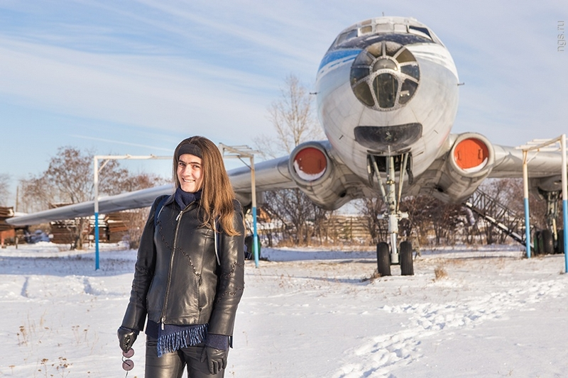 Maria – The girl with an aircraft restoration hobby