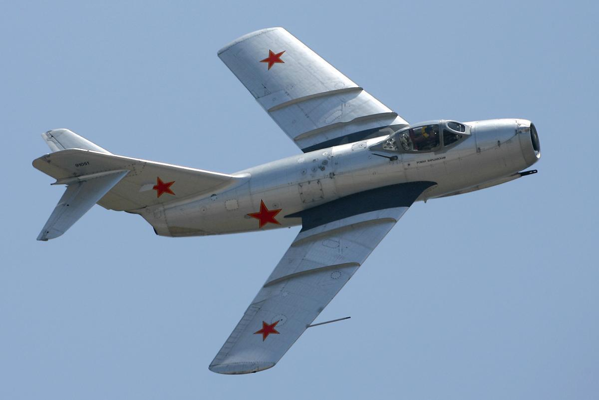 The MiG-15's role during the Korean War