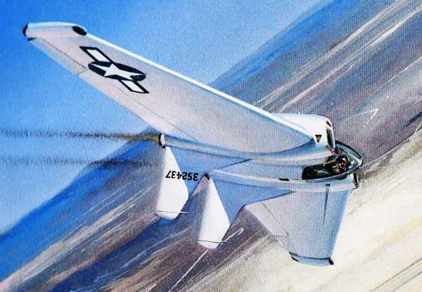 The Northrop XP79