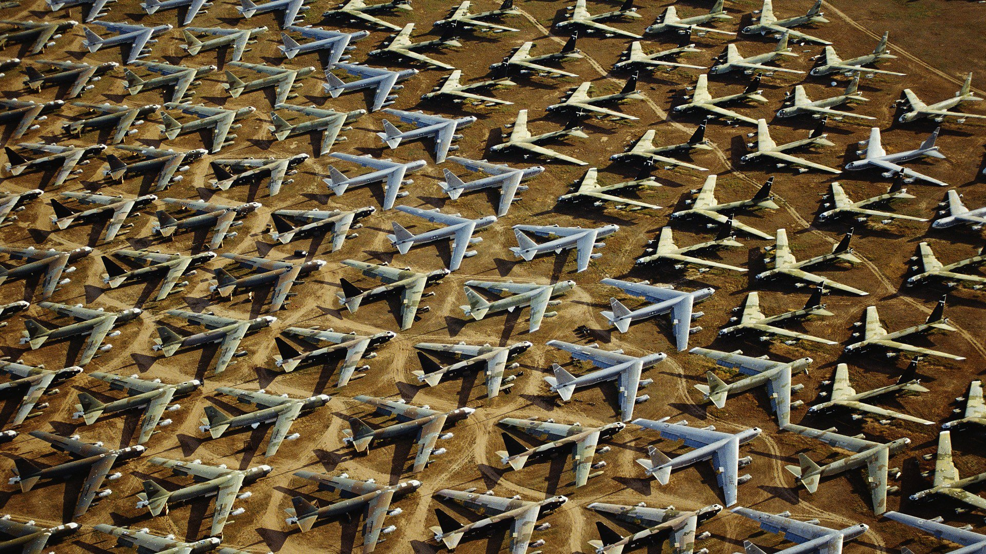 This Graveyard would be 2nd largest Air Force in the world