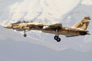 "IRIAF F-14A Tomcat -Islamic Republic of Iran Air Force - the so called ""Persian Cat"""