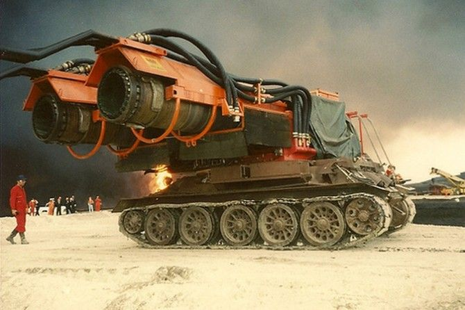 Jet Engine Snow Blowers