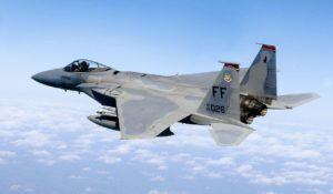 F-15, 71st Fighter Squadron - in flight