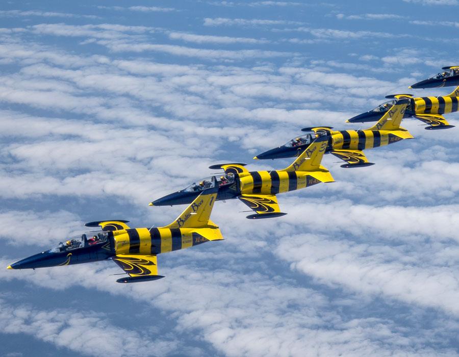 Hawker Hunter - Jagdflugzeug und Jagdbomber