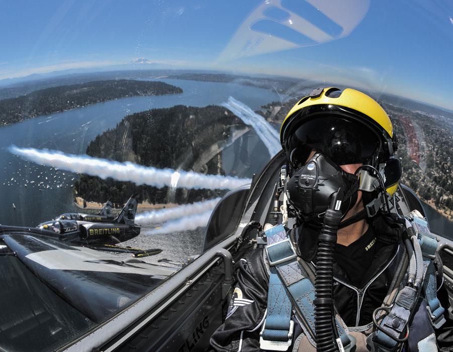 Hawker Hunter fliegen in der Schweiz