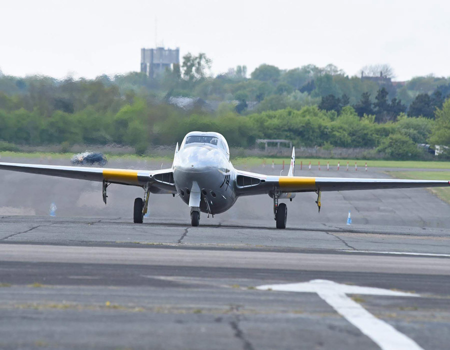 Jet Provost - Trainingsjet in London fliegen